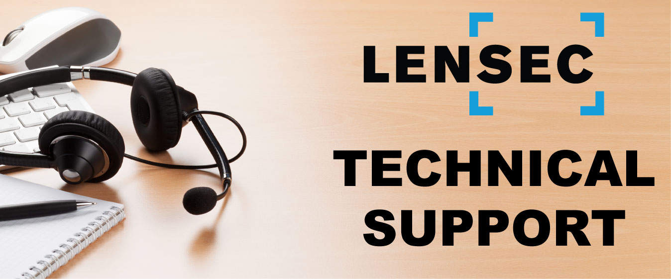 LENSEC Technical Support